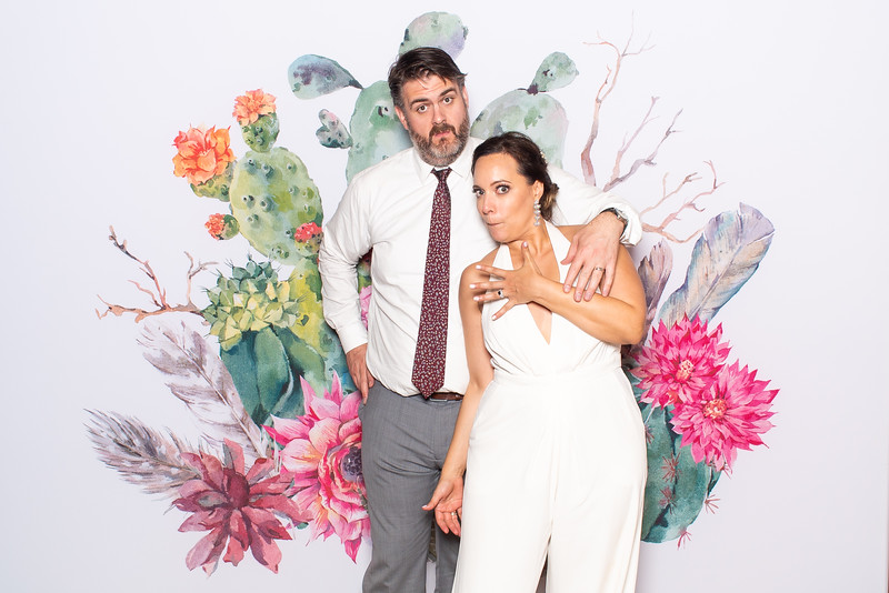 Lindsey & Brian's Wedding Photo Booth