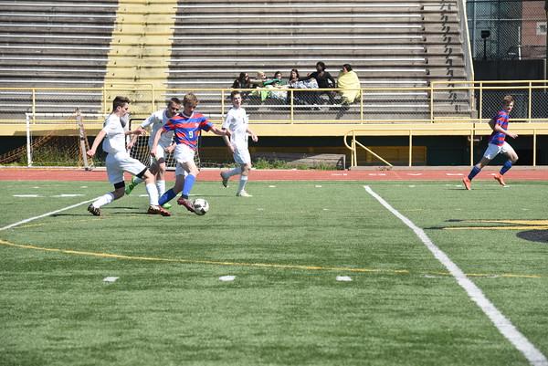 Varsity Boys Soccer vs Pius X