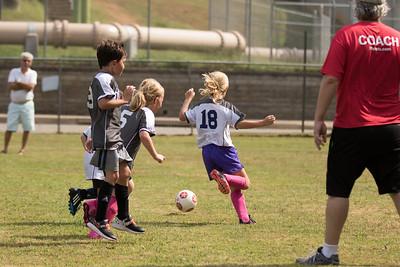 Hattie's First Soccer Game