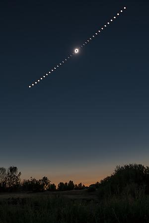August 21 2017 Total Solar Eclipse - Idaho, USA - PART 3