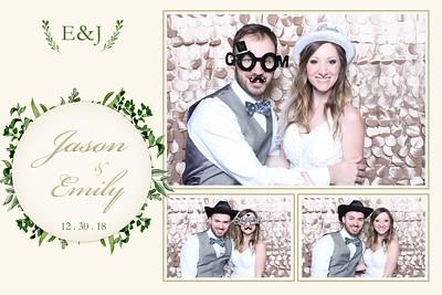 Jason and Emily's Wedding 12-30-2018