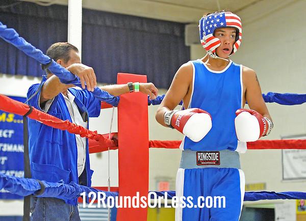 Bout #2 Isaiah Steen (Cleveland) vs Isaiah Rosario (Lorain)  119 lbs.