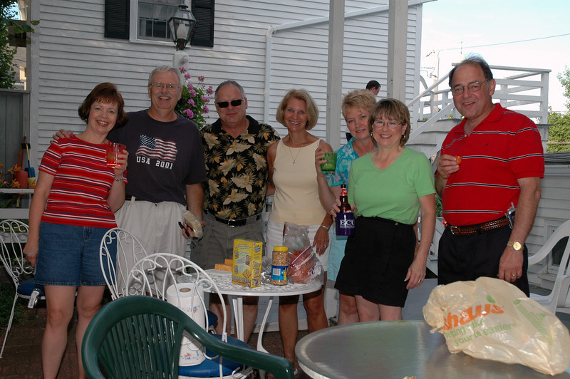 Gail Espinoza, Bill Merrill, Jeff Sloan, Sue Merrill, Melody Sloan, Pat Deutsch, Stan Deutsch