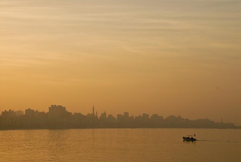 Evening Haze, Alexandria