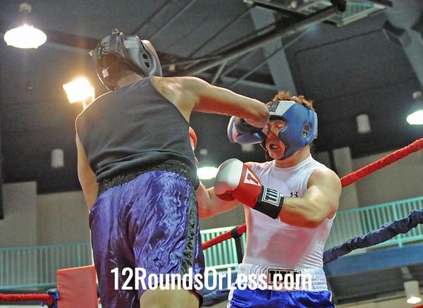 Ryan Skinner (Terminator B.C.) vs Shawndall Hood (Roch Hard Cash B.C.)  201 Pound Hvy Weight-Novice  Bout # 11
