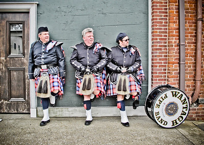 2013-03-17 Glen Cove St. Patrick's Day Parade- Wantagh Pipe Band