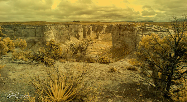 Canyon de Chelly  - IR