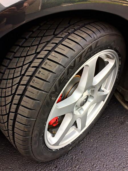 Conti DWS tyres
