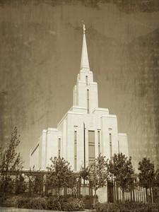 Oquirrh Mountain LDS Temple Prints