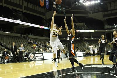 NKU Women's Basketball vs Mercer 1-28-2013
