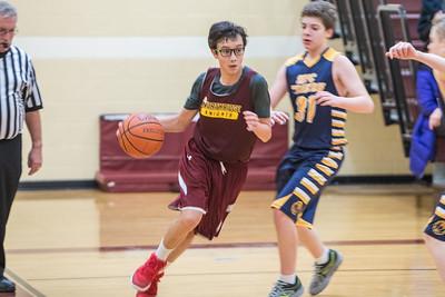 Basketball - 7th Grade Gold vs. St. Paul of the Cross