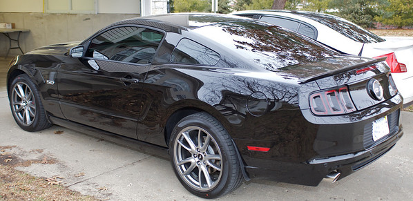 2013 Ford Mustang Tint