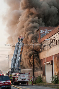 Hancock Ave. General Alarm (Bridgeport, CT) 6/21/12