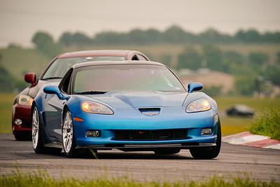 143 Blue C6 Corvette ZR1