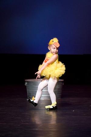 Dance Center Recital 6/1/08 Rubber Duckie
