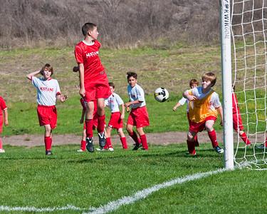 Mustang Soccer 2009 - Team Titans - Game 14
