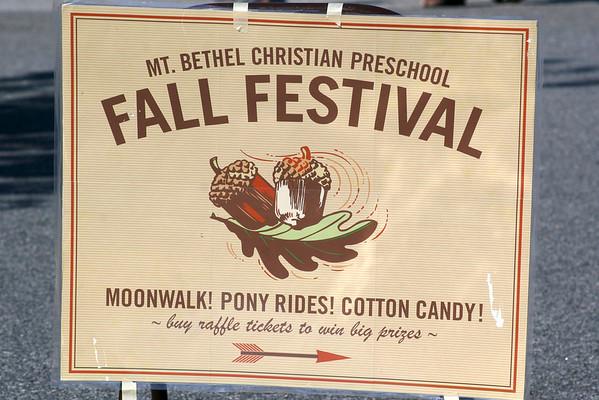 PreSchool Fall Festival 2010
