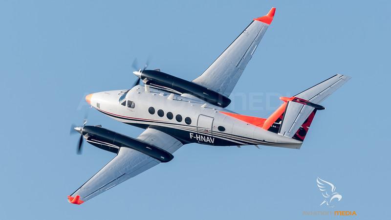 ENAC / Beech 200 Super King Air / F-HNAV