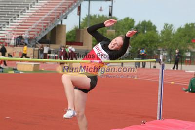High Jump Girls - 2012 MHSAA LP T&F Finals Division 1 by Matt