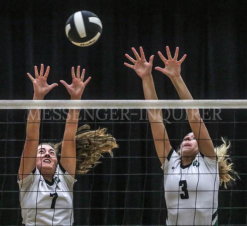 OCHS Trinity volleyball - 10-14-20 - Messenger-Inquirer