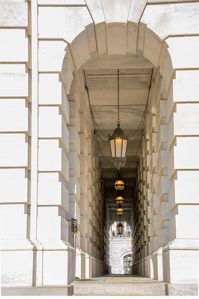 The United States Capitol Building Entrance