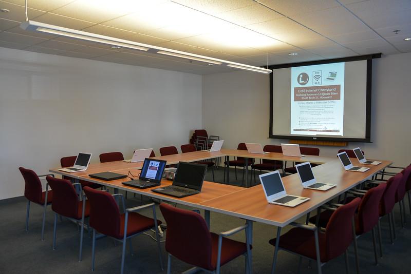 20150211 Eden Church Computer Lab Opening