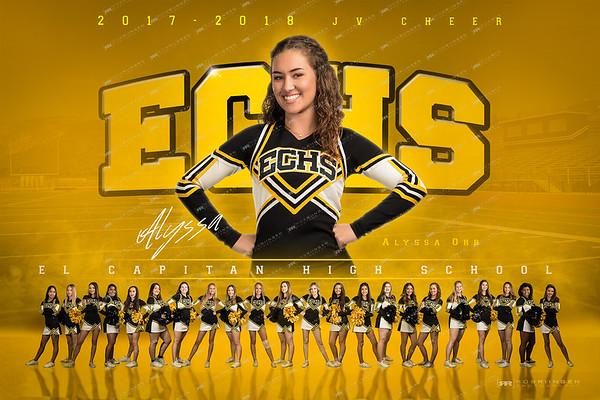 ECHS JV Cheer 2017-18