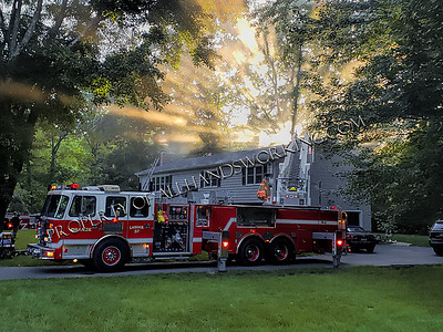 Orange, CT 469 Turkey Hill Rd. dwelling fire