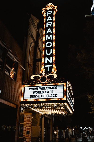 The Paramount NPR World Cafe Sense of Place Charlottesville
