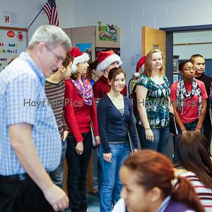 Choir Carolling 12/19/12