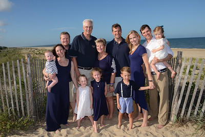 Reynolds Family Beach Portraits July 5, 2018