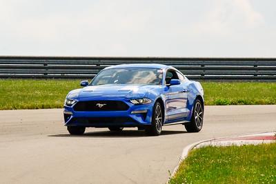 2020 SCCA TNiA June Pitt Race Blue Mustang