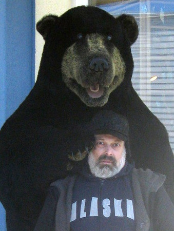 The bear confronts Joel