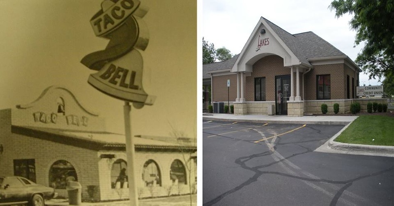 . A Taco Bell which became a Credit Union