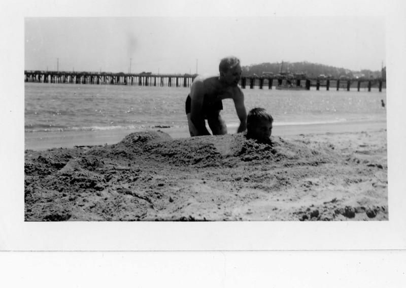 Bob Jansen, Jim Harsha. 1943; Santa Cruz CA