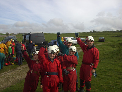SCOUTS CAVING WEEKEND CAMP
