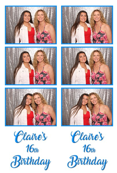Claire's 16th Birthday (06/28/19)