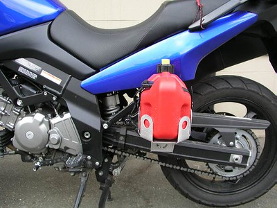 PegPacker on Suzuki DL650 WeeStrom