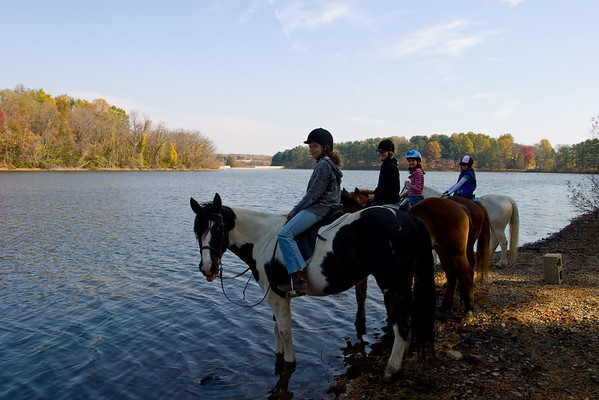 Trail Ride in the Fall