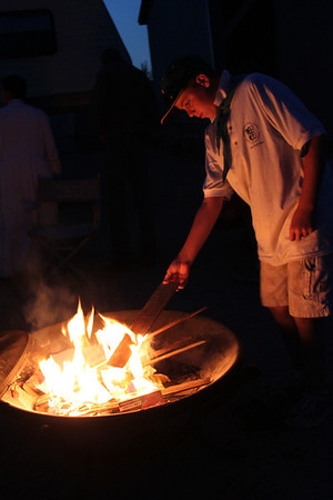 2013 St. Michael's Patrol Father-Sons Camp: Campfire