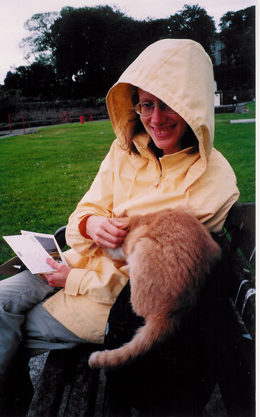 Carolyn and the Irish Cat
