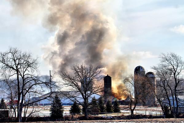 Barnfire - Jan 22, 2013