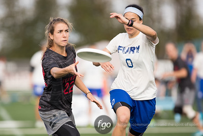8-21-16 San Francisco Fury v Washington, DC Scandal Women's Division Quarterfinal at USAU Pro Flight Finale