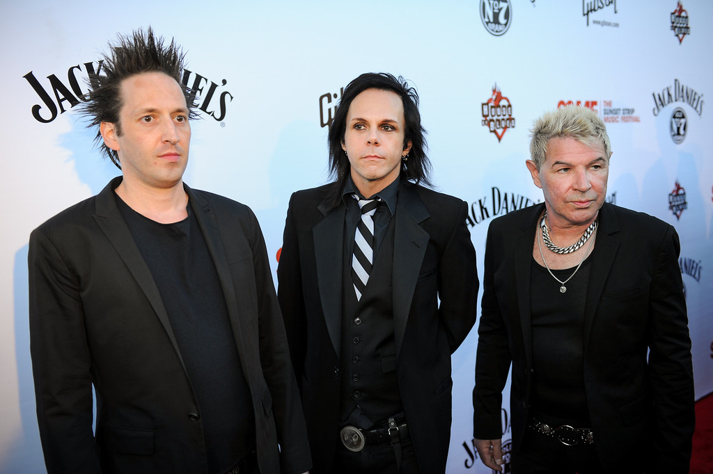 . The Blackhearts of Joan Jett and the Blackhearts on the red carpet before their concert at the House of Blues as part of the Sunset Strip Music Festival, Thursday, August 1, 2013. (Michael Owen Baker/L.A. Daily News)