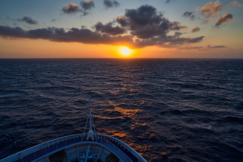 Sunrise on the Eastern Med