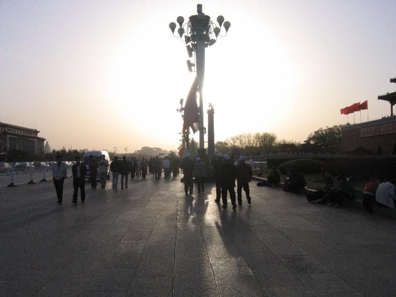 Sun on Tiananmen