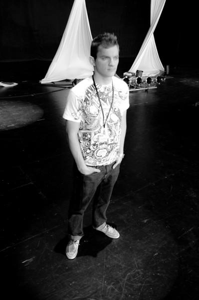 Derek Porter on Stage