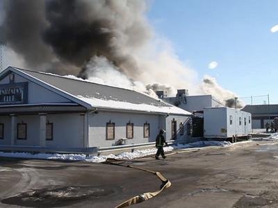 3rd Alarm fire in Leyden 11600 block of West Grand Avenue