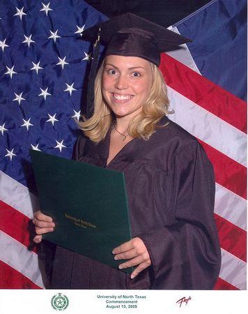 Teddi's College Graduation