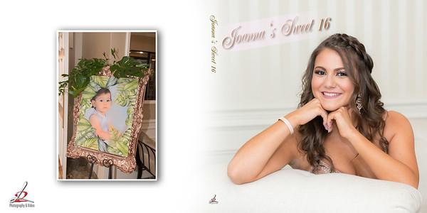 Joanna's Sweet 16 Photo Book